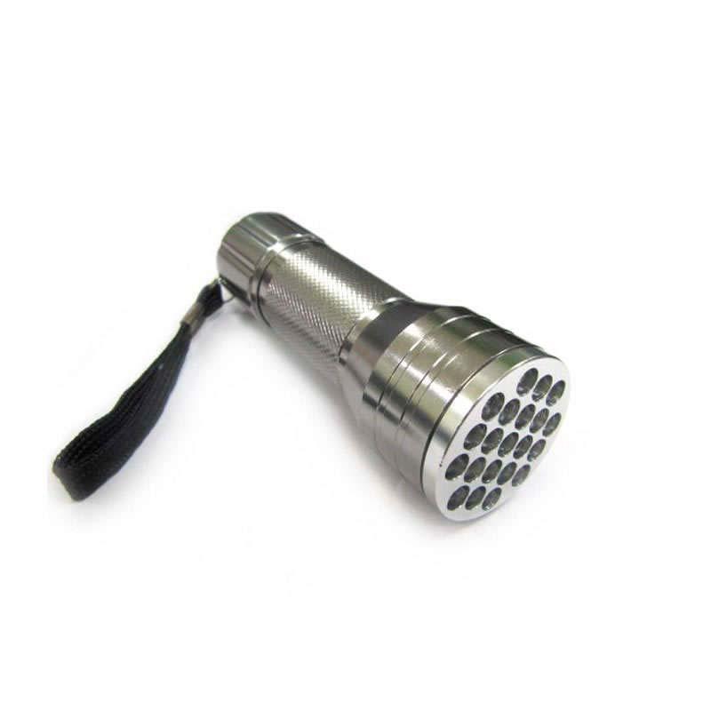 Linterna LED de aluminio de 21 led